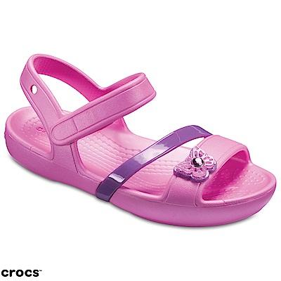 Crocs 卡駱馳 (童鞋) 莉娜小涼鞋 205043-6U9