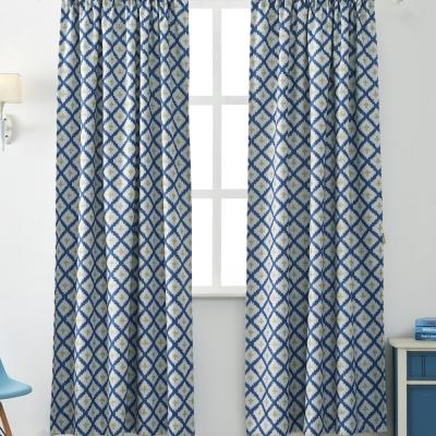 伊美居 - 小王子單層遮光半腰窗簾 130x165cm(2件)