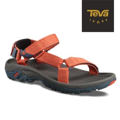 TEVA-美國-Hurricane-XLT-女-經典緹花織帶涼鞋-復古橘