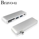 Bravo-U Type-C 鋁合金四合一OTG多功能轉接卡