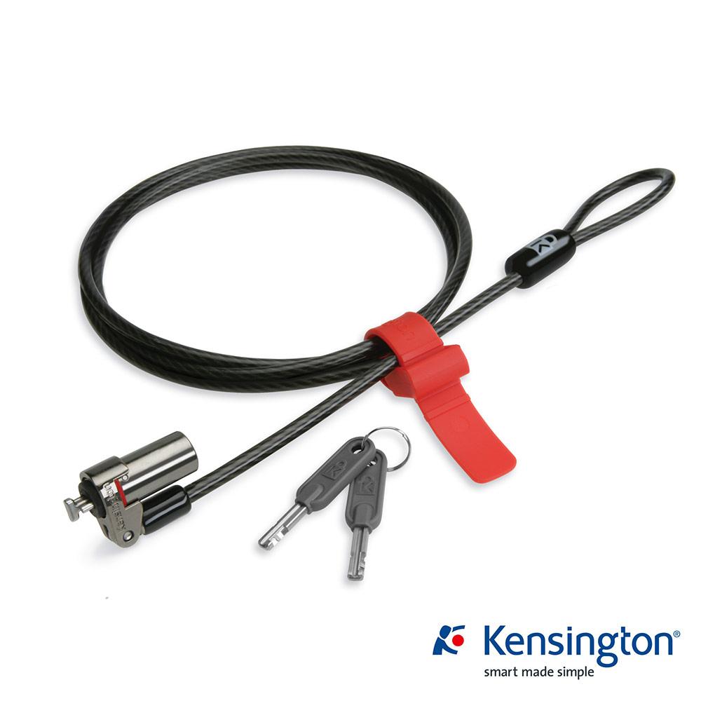 Kensington 白金級超纖細電腦防護鎖(鑰匙式)