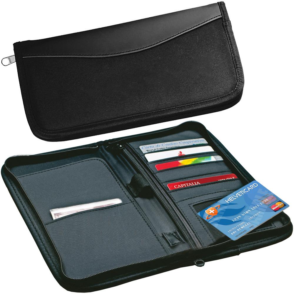 VOYAGER 旅用護照皮夾(黑)