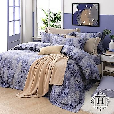 HOYA H Series浮士德 特大四件式頂級550織匹馬棉被套床包組