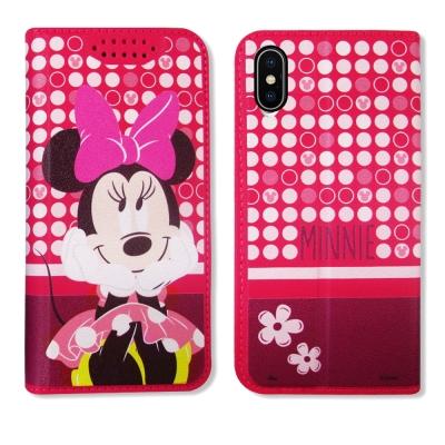 迪士尼正版授權 iPhone X 普普風彩繪手機皮套(米妮)