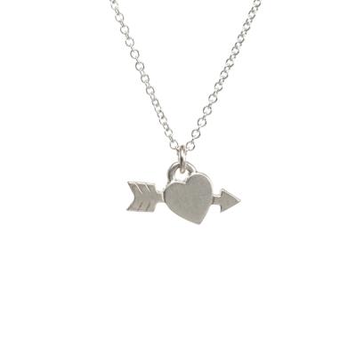 Dogeared arrow heart 銀色邱比特愛心項鍊 熱戀甜滋滋 附原廠盒