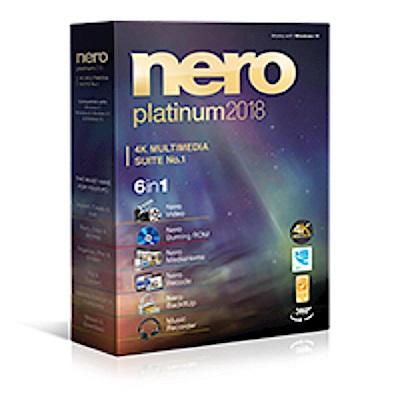 Nero 2018  六合一   白金版