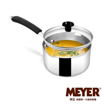 MEYER-美國美亞Fiera美饌系列不鏽鋼單柄湯鍋14CM-含蓋