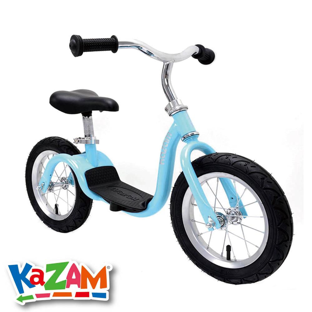 【 美國 KAZAM 】 兒童平衡 學習最佳幫手 平衡滑步車- 淺藍