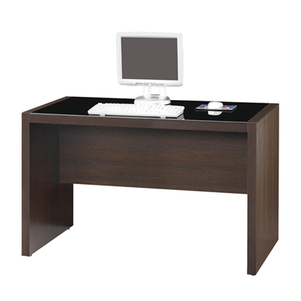 雅博德 胡桃木色4尺電腦書桌