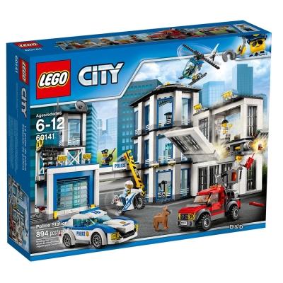 樂高LEGO城市系列 - LT 60141  警察局