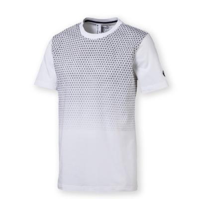 PUMA-男性BMW系列競速短袖T恤-白色-歐規