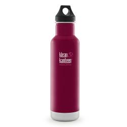 美國Klean Kanteen經典保溫瓶592ml-甜菜紅