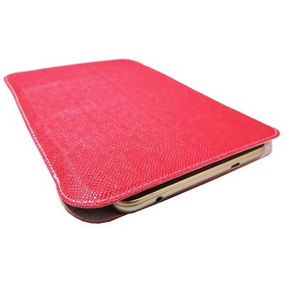 8 吋直立多功能可立式皮革通用平板保護套 ( 紅)