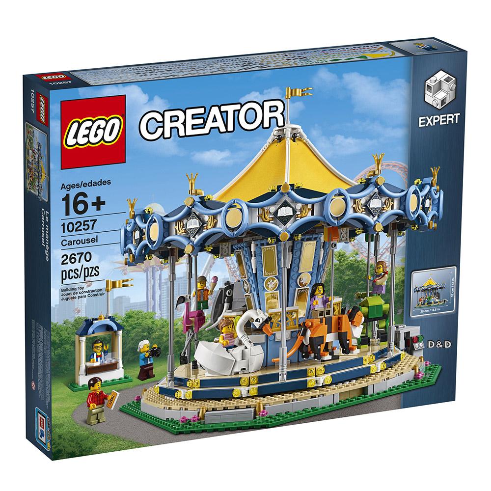 樂高LEGO 創意大師Creator系列 樂高旋轉木馬 LT10257