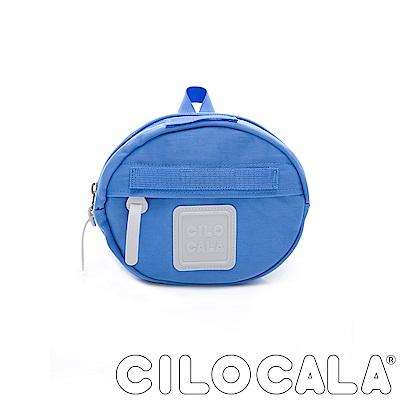 CILOCALA 亮彩尼龍防潑水MINI TAMAGO側背包(迷你)  天藍色