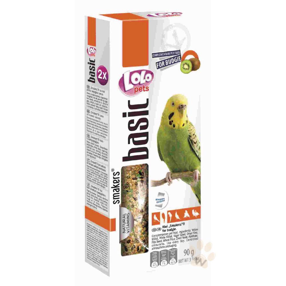 LoLo 小型鸚鵡棒棒糖(奇異果)90g 2入