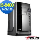 華碩B360平台[赤土戰神]i5六核效能電腦