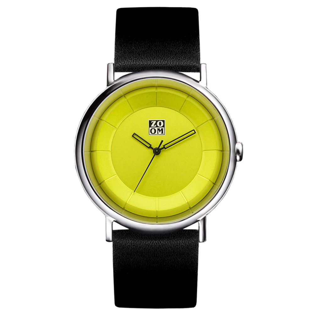 ZOOM Unlimited 極致美感簡約休閒腕錶-綠色/42mm
