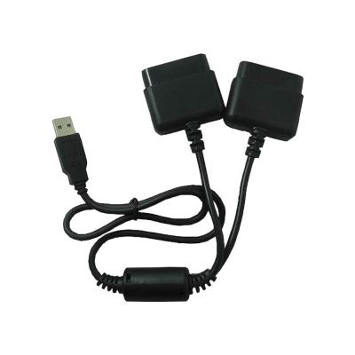 PS/PS2 搖桿轉USB 2對1轉接線SY004-2