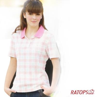 【瑞多仕】女款 COOLMAX 輕量POLO衫_DB7655
