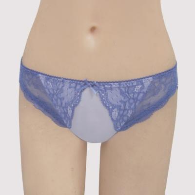 瑪登瑪朵-我挺妳  低腰三角萊克內褲(泡泡紫)
