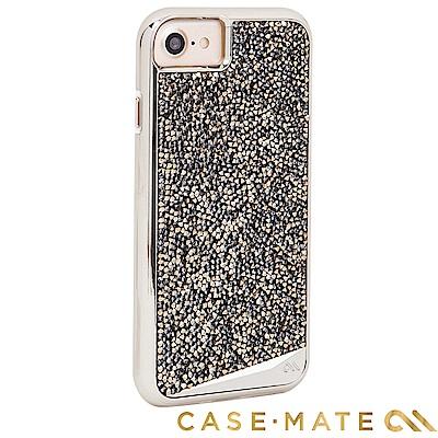 美國 Case-Mate iPhone 8 時尚水鑽雙層防摔手機保護殼 - 香檳...
