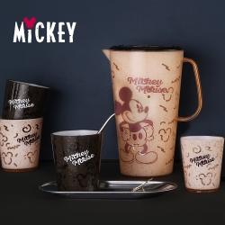 迪士尼Disney 原始紋理一壺四杯組-2.2L壺+350mlx4杯組(8H)
