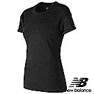 New Balance輕量透氣短袖T恤 AWT73501BK 女性 黑色