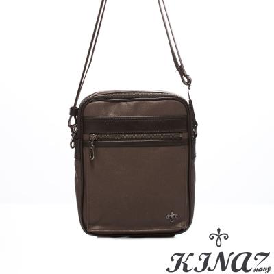 KINAZ-navy-經典風華斜背包-老爺車的收藏系列-特賣品