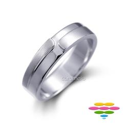 彩糖鑽工坊 K金戒指(寬版) 封籤系列