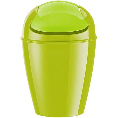 KOZIOL Del搖擺蓋垃圾桶(綠XS)