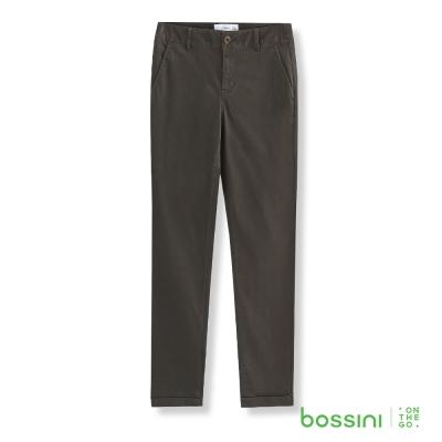 bossini女裝-彈力修身褲05橄欖灰