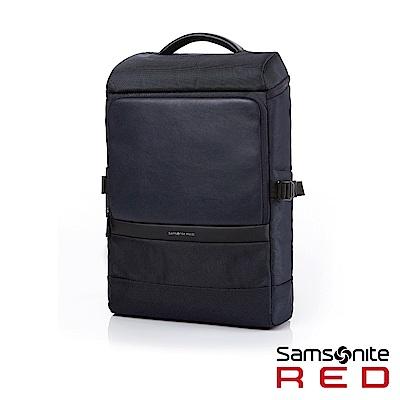 Samsonite RED MERR上開式筆電後背包14吋(海軍藍)