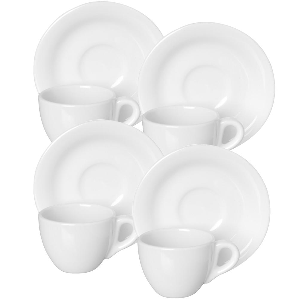EXCELSA Division陶製咖啡杯碟組4入(60ml)