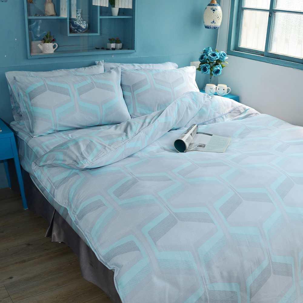 BORIS  多維空間 天絲兩用被床包組-雙人