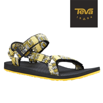 TEVA 美國-男 Original Universal 緹花涼鞋 (城市黑)