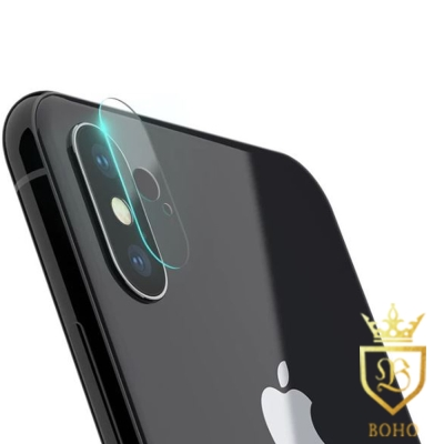 [BOHO]完全保護 鋼化玻璃鏡頭保護貼 9H iPhone X 兩入裝