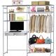 巴塞隆納-WP4型90公分-E90公分電腦桌衣櫥架-無防塵