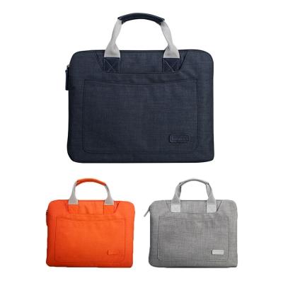 JISONCASE 簡約風帆布手提包(14吋以下通用)