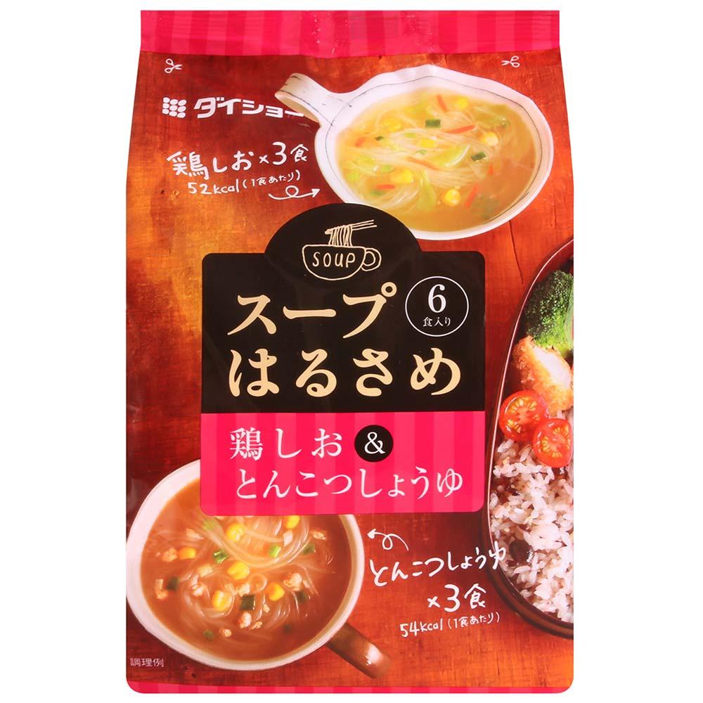 Daisho 即食冬粉湯-雞湯&豚骨醬油風味(95.7g)