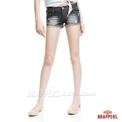 BRAPPERS 女款 新美腳Royal系列-女用熱褲-黑