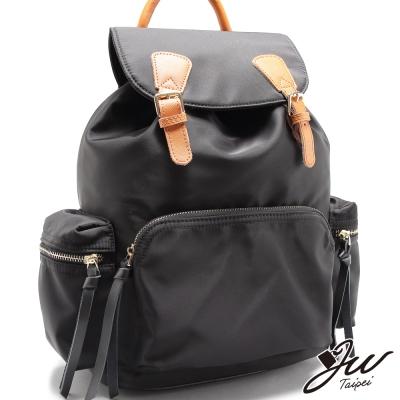 JW-後背包-真皮英倫情人牛皮配尼龍後背包-共四色