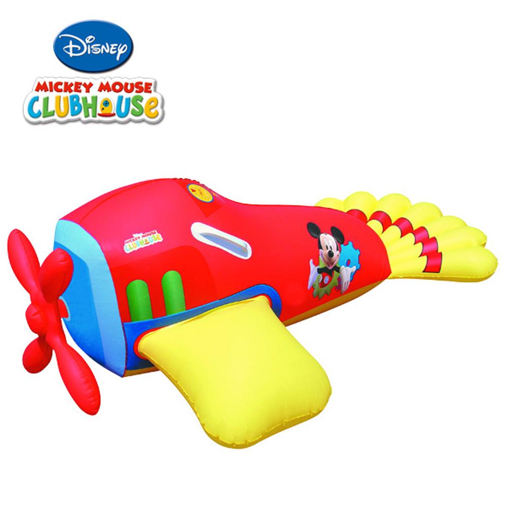 《凡太奇》美國品牌【迪士尼DISNEY】米奇圖案充氣助浮飛機