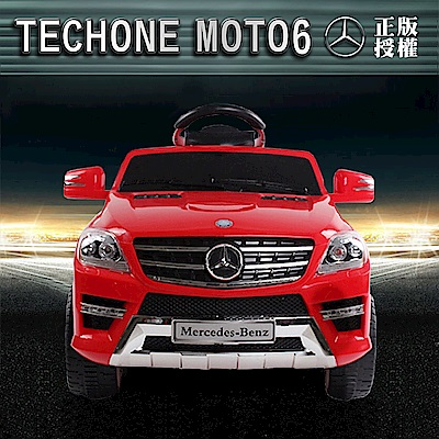 TECHONE MOTO6 仿真跑車 BENZ ML350充電版電動搖控雙驅童車/汽車