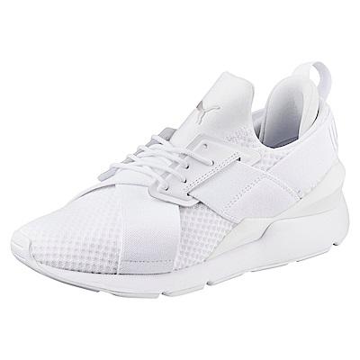 PUMA-MuseEP Wns女復古休閒鞋-白色