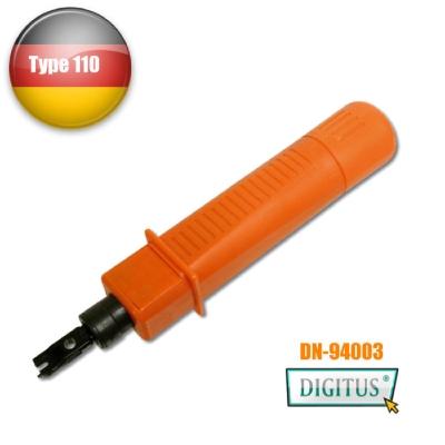 曜兆DIGITUS專業資訊插座打線押線工具Punch tool(110型)