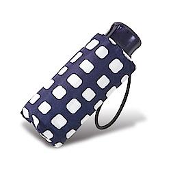 RAINSTORY方塊格紋抗UV迷你口袋傘