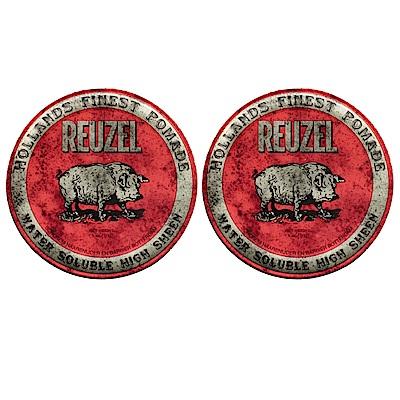 REUZEL 紅豬 水洗式髮油113g  (2入)