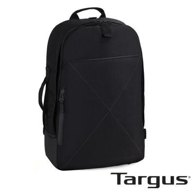 Targus T-1211 都會雅痞 17 吋兩用手提後背包-都會黑