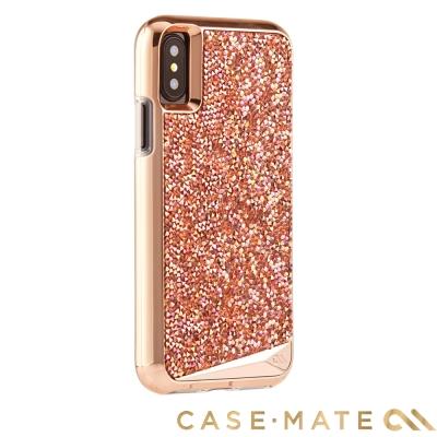 美國Case-Mate iPhoneX Brilliance水鑽雙層防摔手機保護...